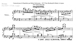 Free-sheet-music by Schumann Page 6 of 10 pages