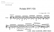Thumb image for Prelude BWV 926
