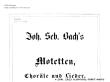 Thumb image for BG Motetten Chorale Lieder Vorwort und Inhalt