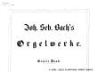 Thumb image for BG Orgelmusik I Vorwort und Inhalt