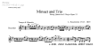 Thumb image for Minuet and Trio