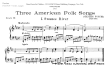 Thumb image for 3 American Folk Songs