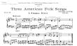 Thumb image for 3 American Folk Songs