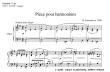 Thumb image for Piece pour harmonium