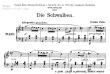 Thumb image for Skizzen fur Klavier Op 20 No 1 Die Schwalben
