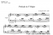 Thumb image for Prelude in F Major
